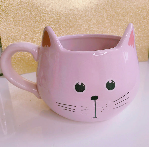 Baby Pink cat mug - Classy Pink Boutique
