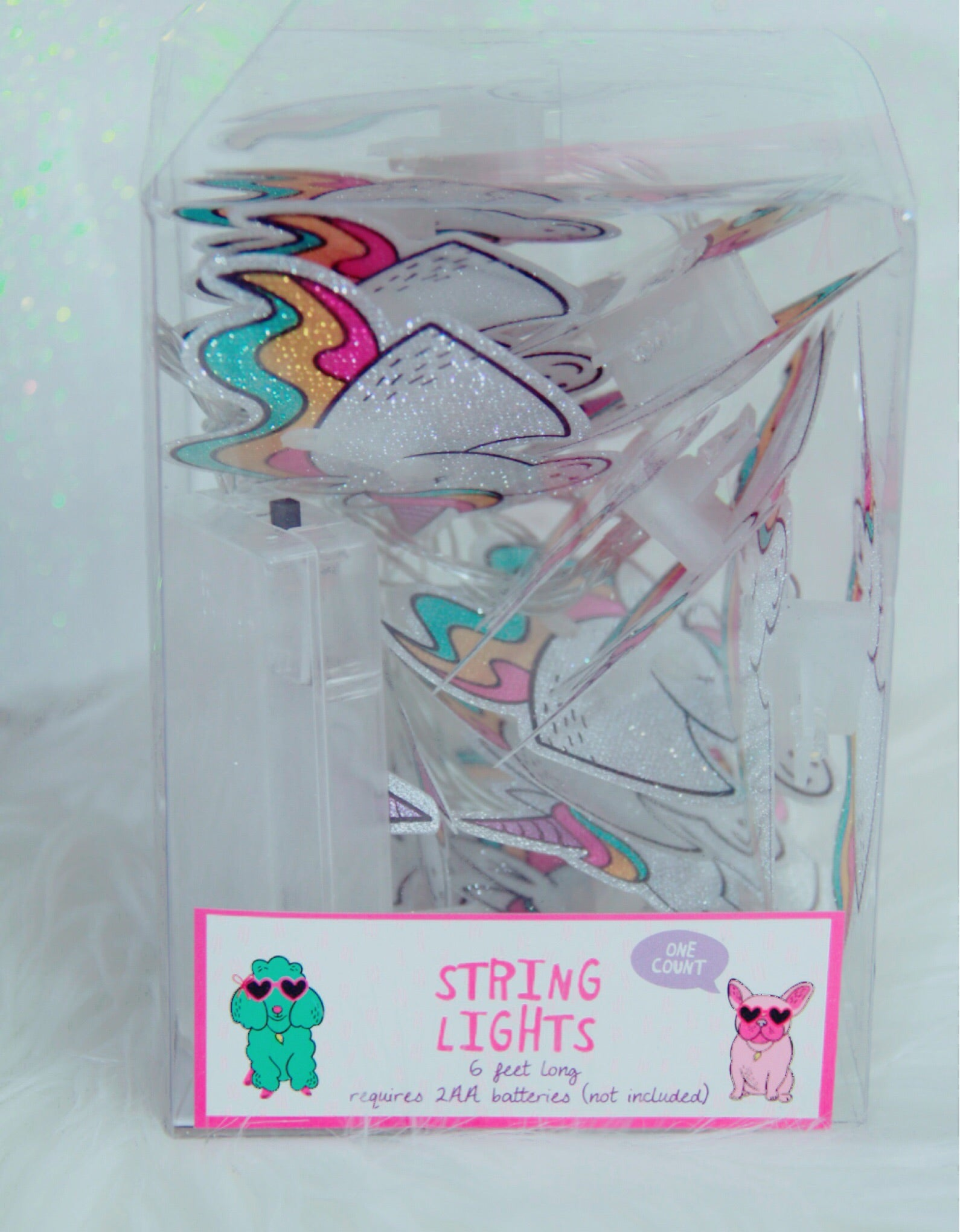 Unicorn string lights battery operated