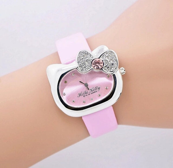 Pink Hello Kitty Watch
