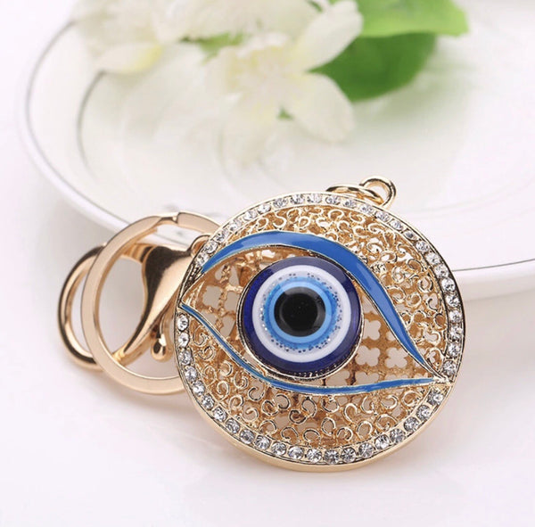 Evil eye blue (keeps the evil away)