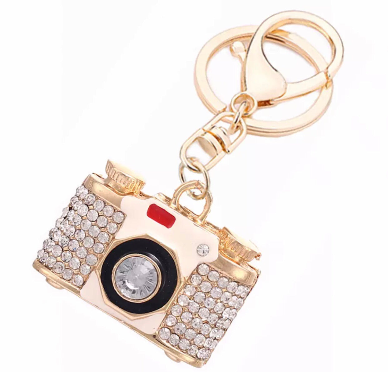 Camera 📸 bag charm keychain - Classy Pink Boutique