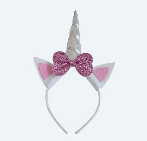 Unicorn bow headband