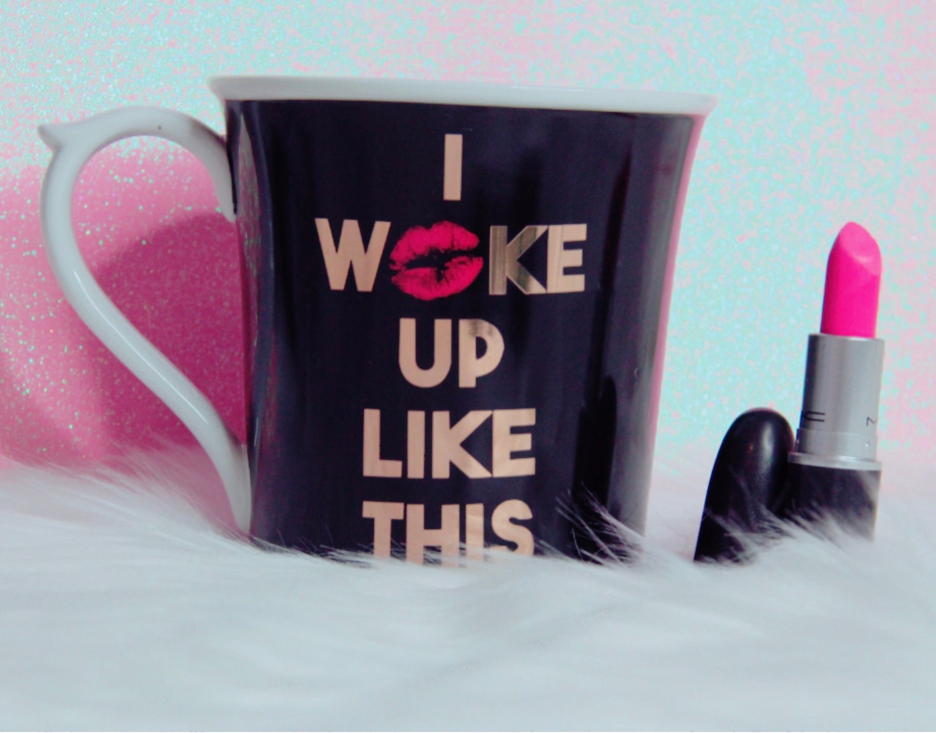I woke up like this mug - Classy Pink Boutique