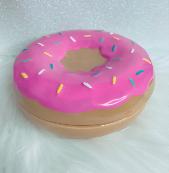 Donut perfectly pink jewelry dish