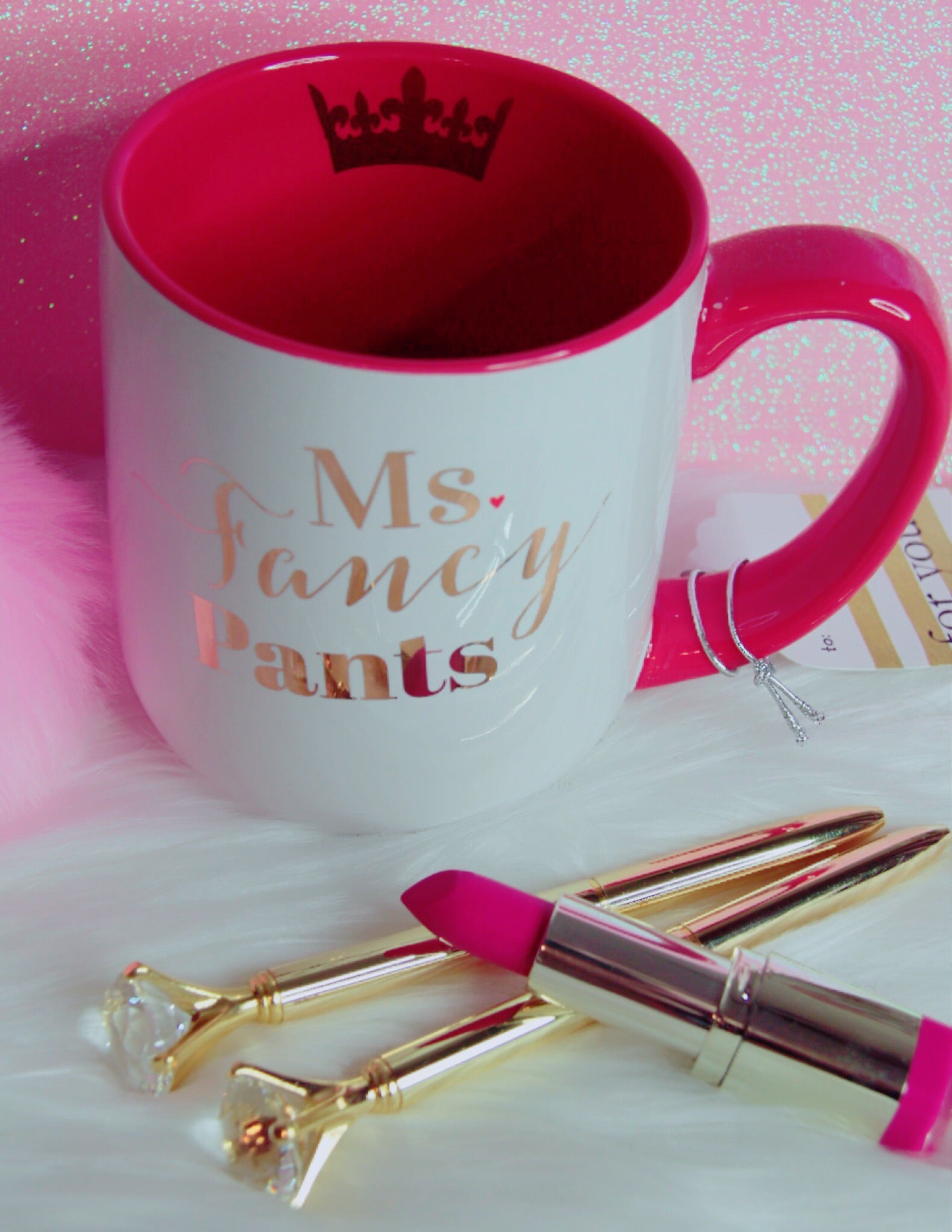 Ms. Fancy Pants mug - Classy Pink Boutique
