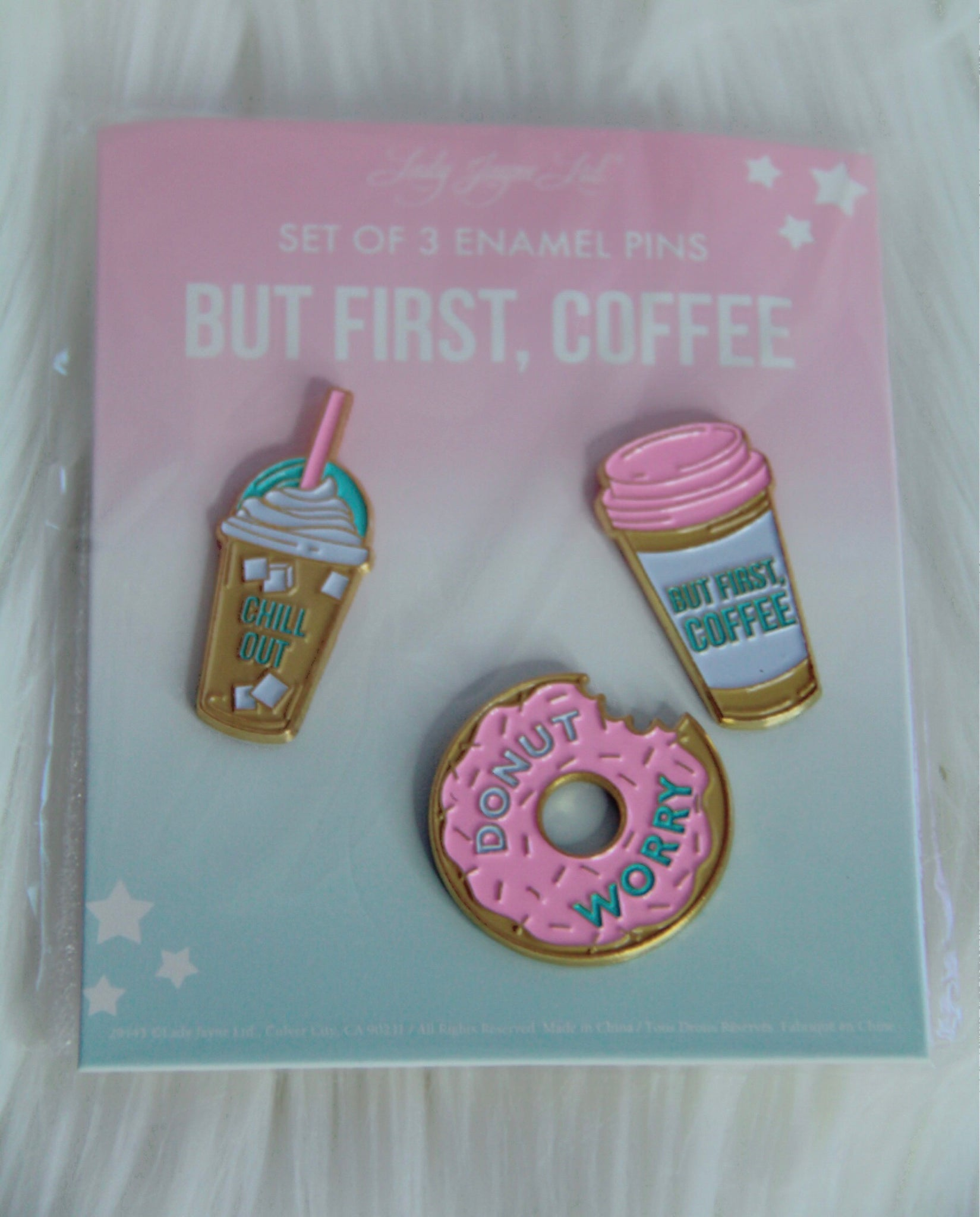 Cute colorful pins - Classy Pink Boutique
