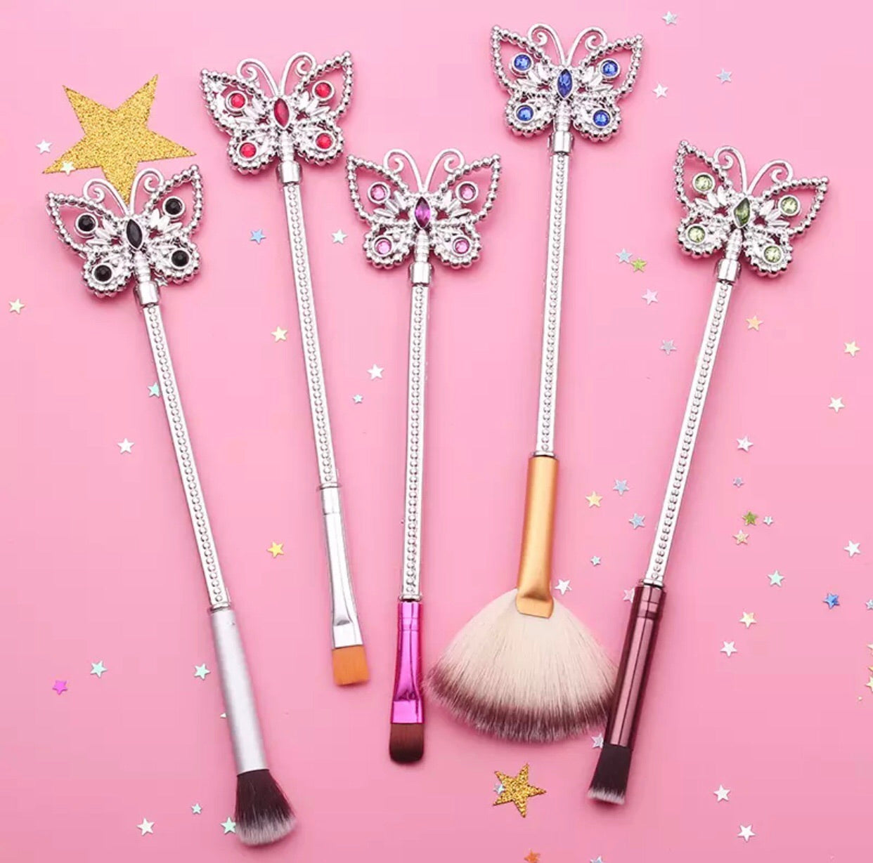 Butterfly brush set - Classy Pink Boutique