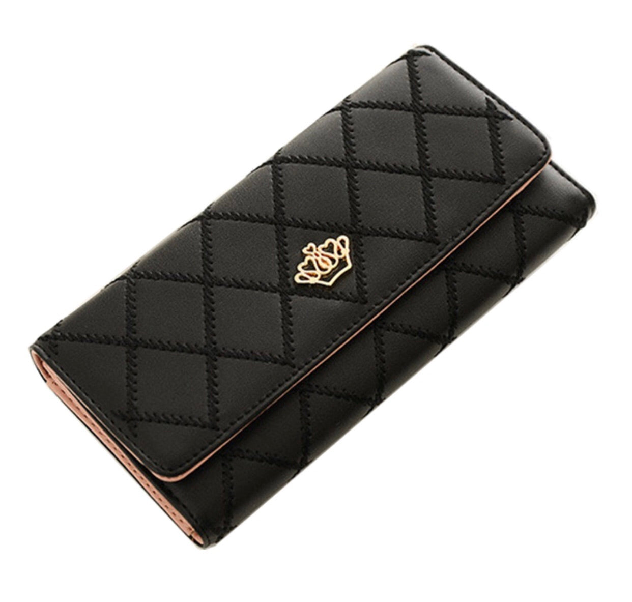 Beautiful Queen crown elegance wallet