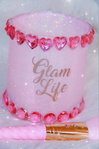 Glam Life with Pink Glitter