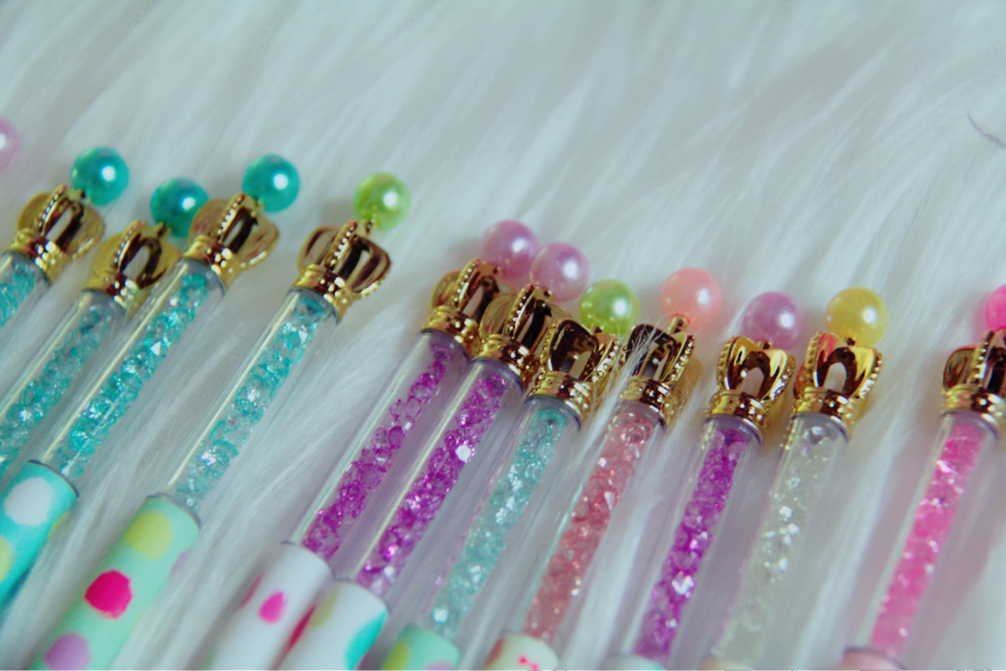 Princess crown pens