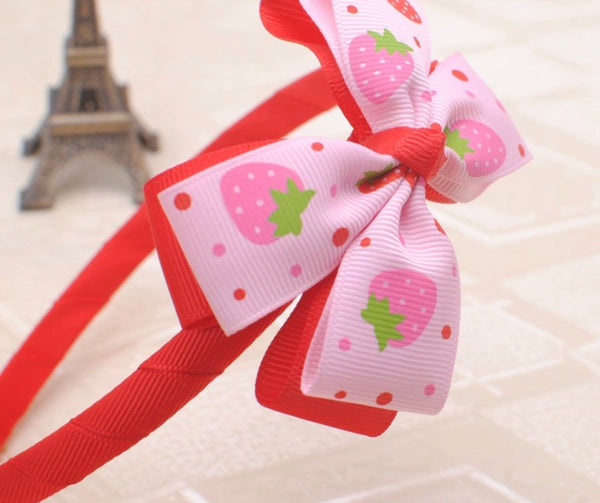 Bow head band for girls - Classy Pink Boutique