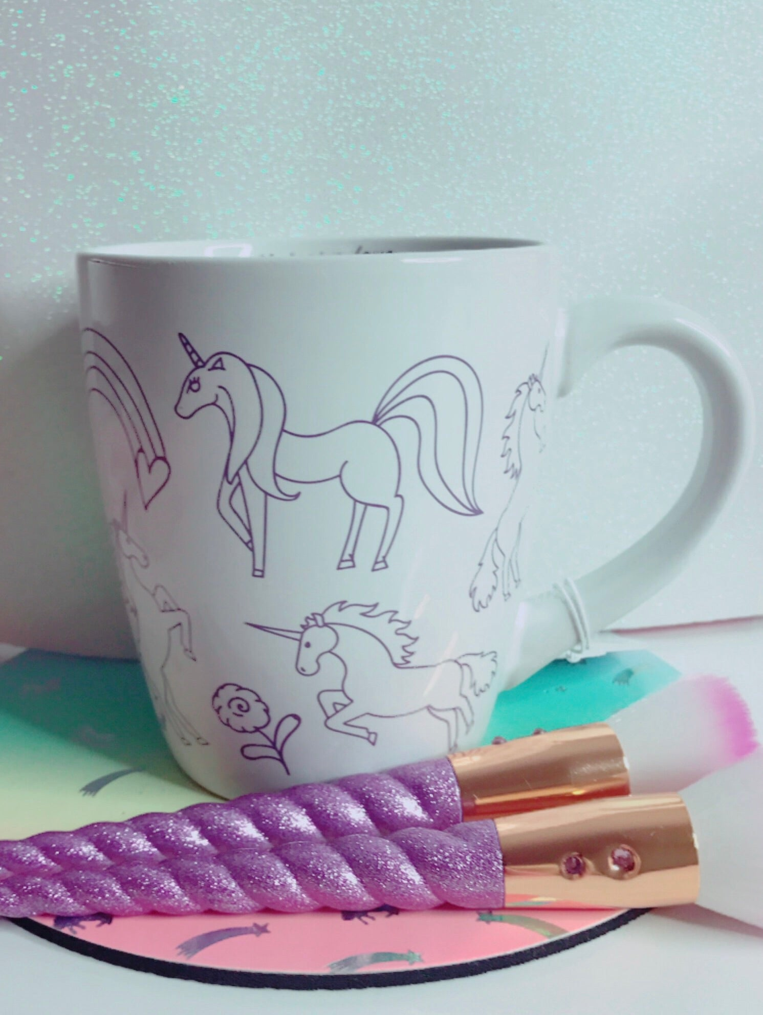 Unicorn fairytale mug
