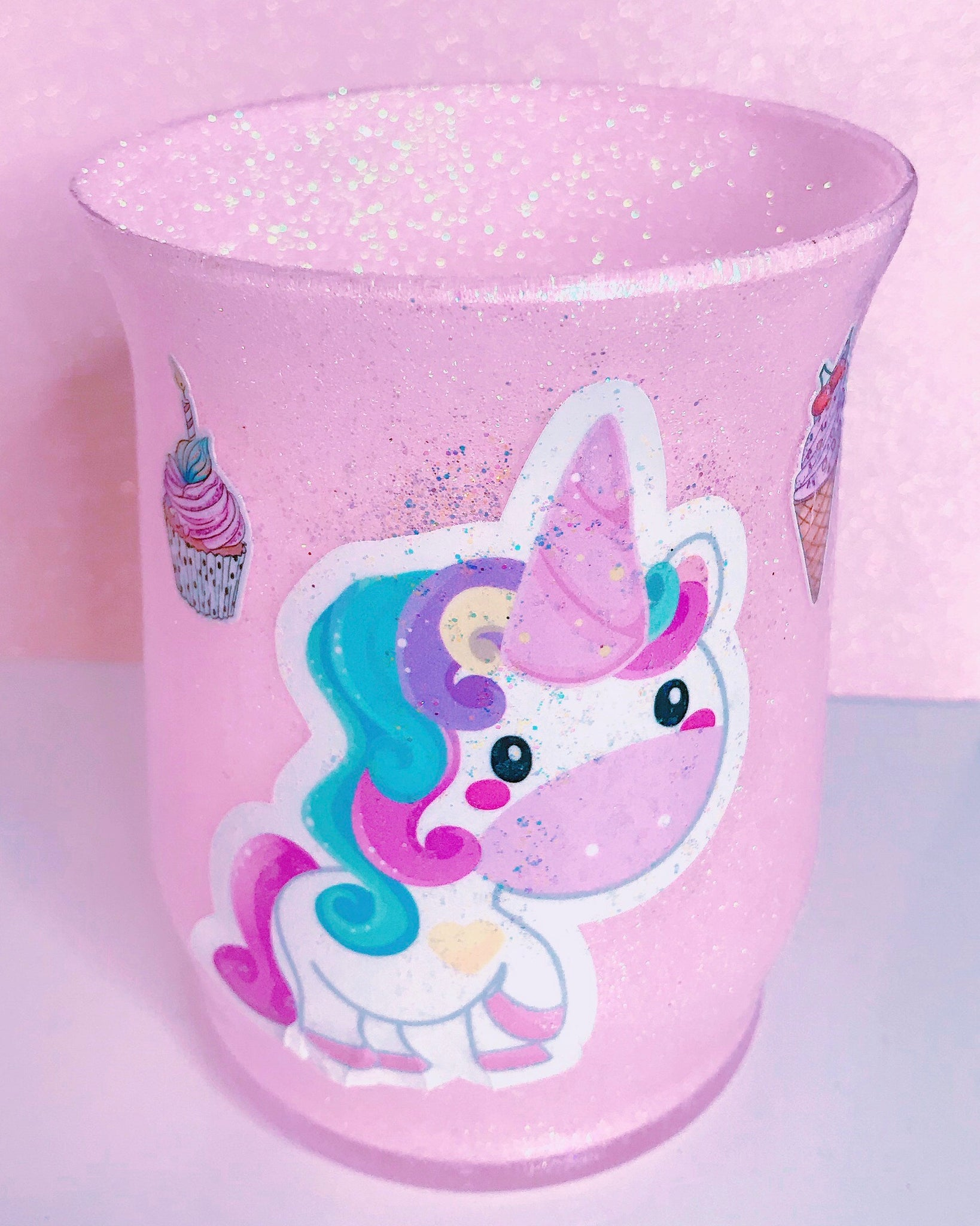 Sweet Unicorn brush holder