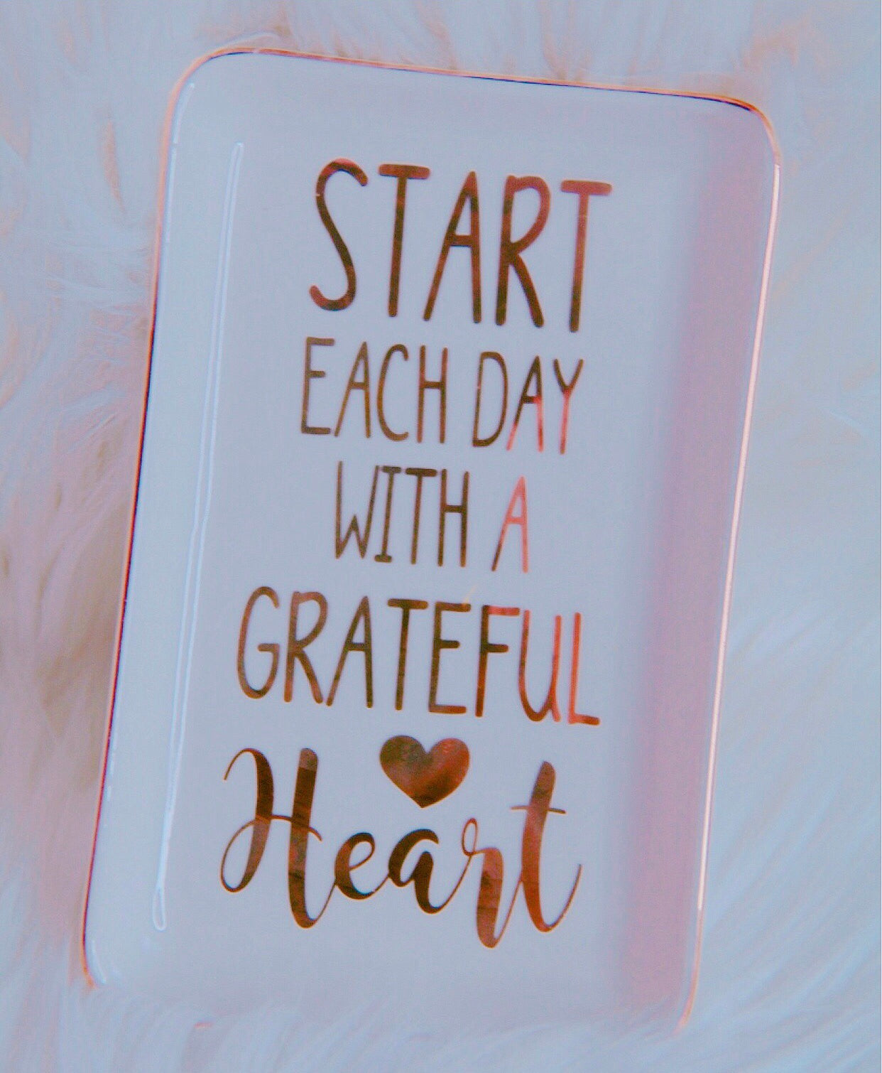 Grateful Heart trinket tray