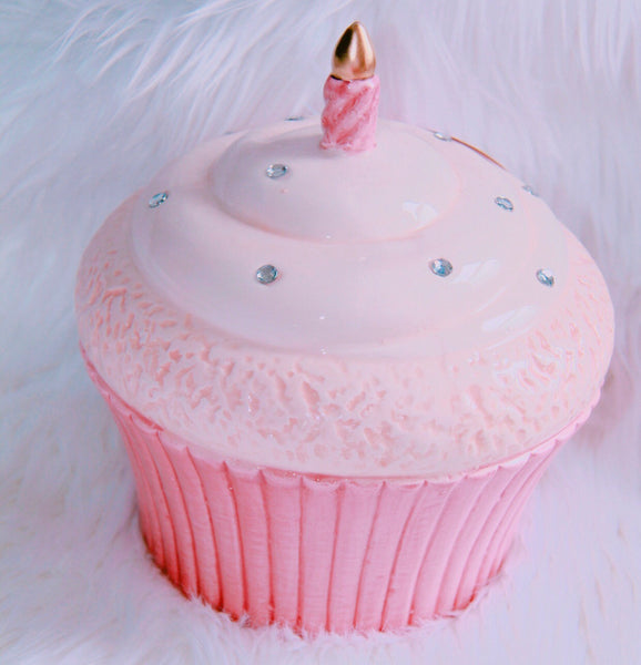 Large decor cupcake