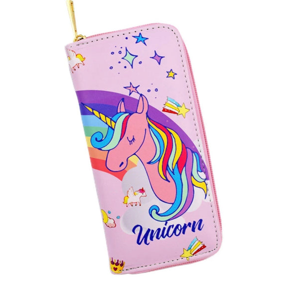 Dream Rainbow Unicorn wallet - Classy Pink Boutique