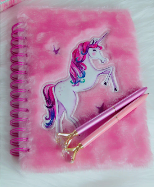 Unicorn pink notebook