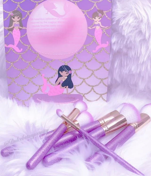 Magical Mermaid brush set - Classy Pink Boutique