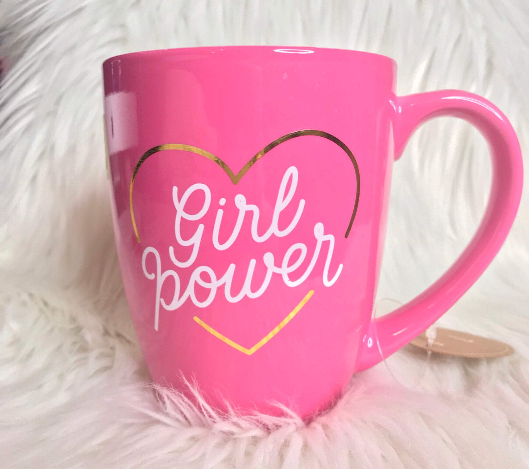 Girl Power Pink mug - Classy Pink Boutique