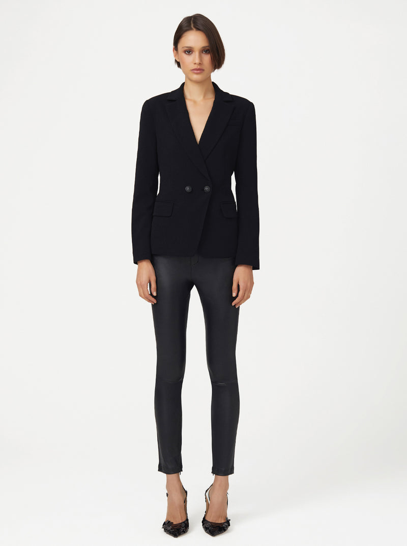 Borderline Double Breasted Structured Blazer