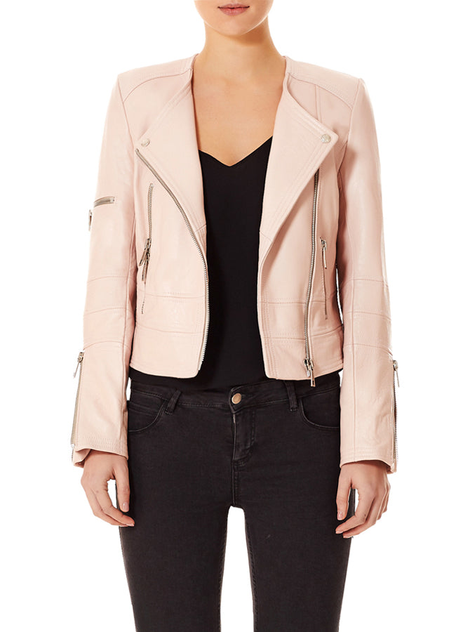 Born To Be Wild Jacket - Blushing