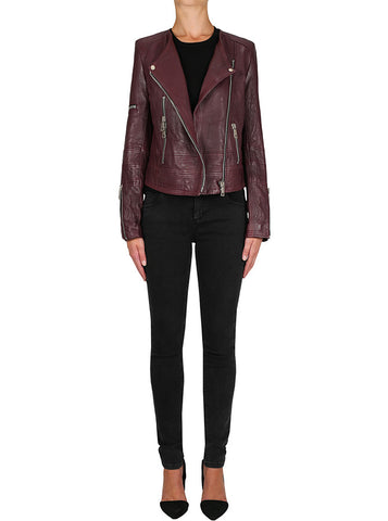 Born To Be Wild Jacket - Merlot