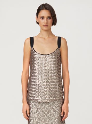 Moonlight Sequin Cami