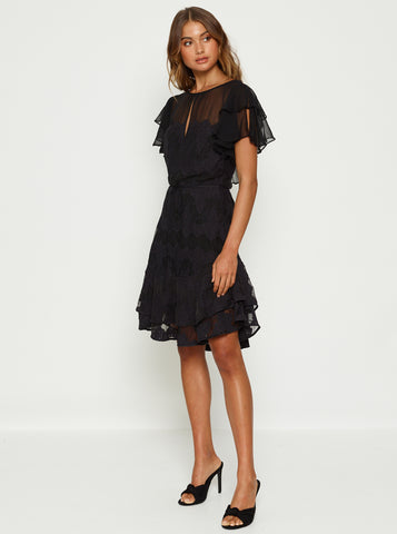 Heartbreaker Mini Dress - Black
