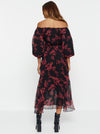 These Dreams Silk Maxi Dress