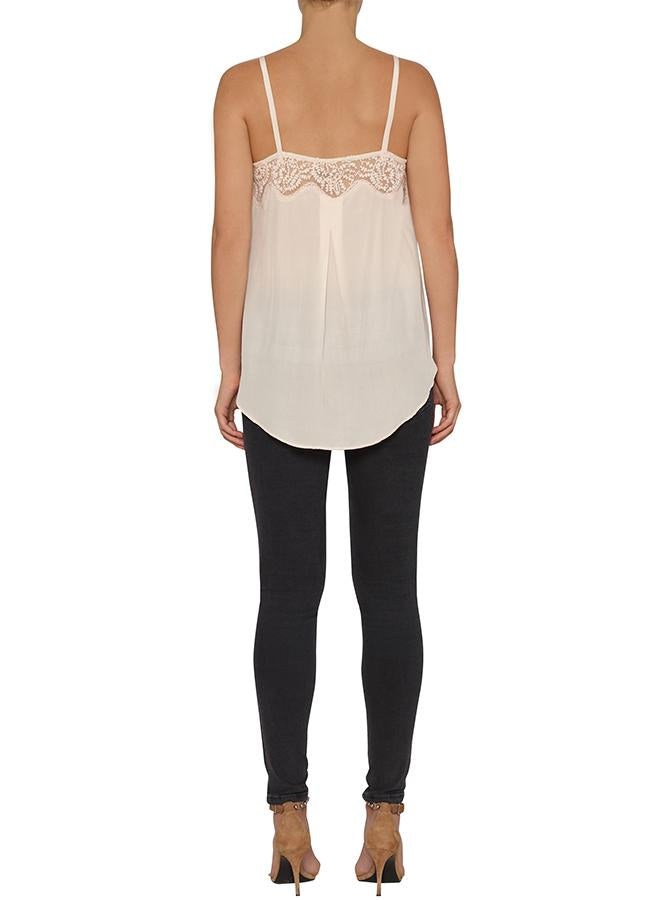 Unforgettable Cami with Embroidered Yoke - Shell