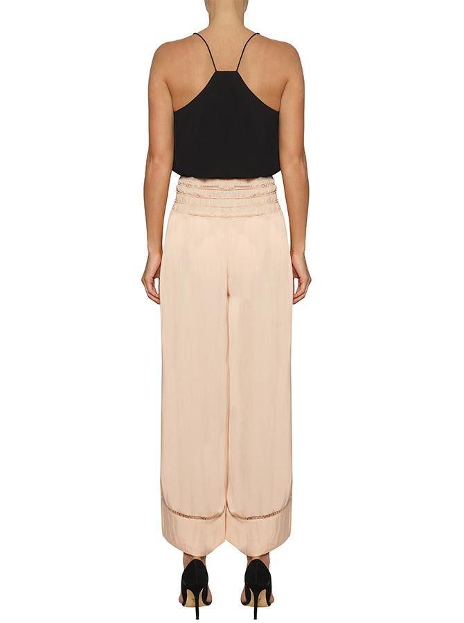 Look Twice Split Leg Pant - Nude