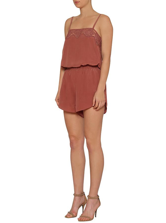 Unforgettable Drape Short - Earth