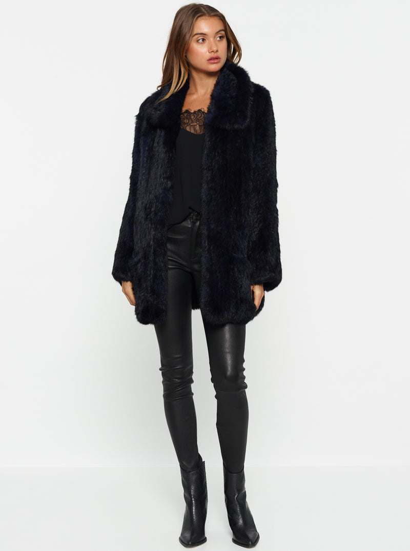 Lush Luxe Fur Relaxed Coat