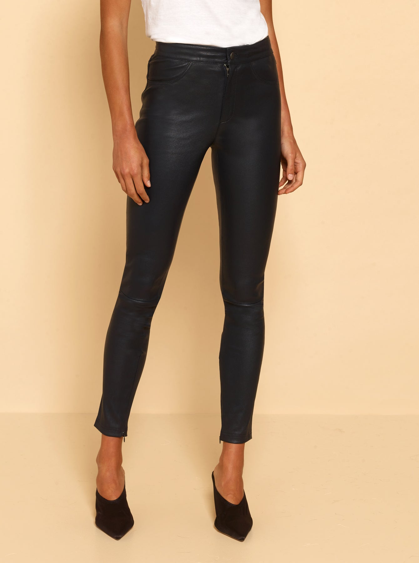 Pure Iconic Skinny Pant - After Midnight