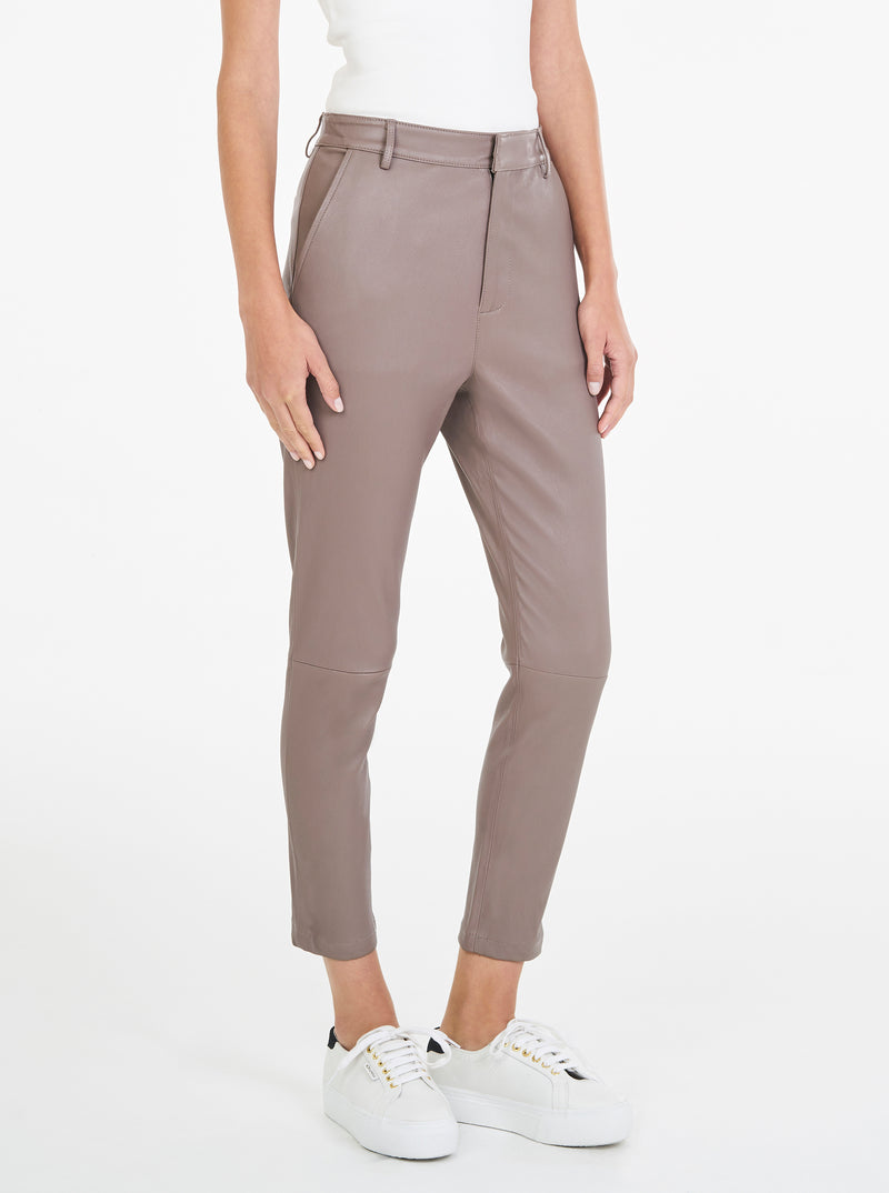 Second Skin Stretch Leather Pant