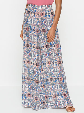 Positano High Waisted Wide Leg Pant