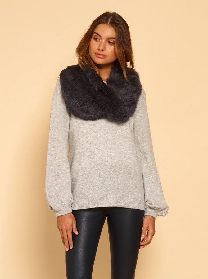 Lush Luxe Snood - Anthracite