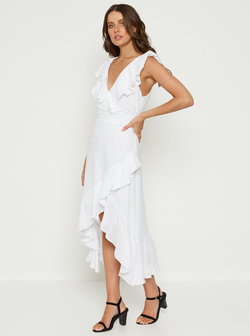 Love To Burn Linen Dress