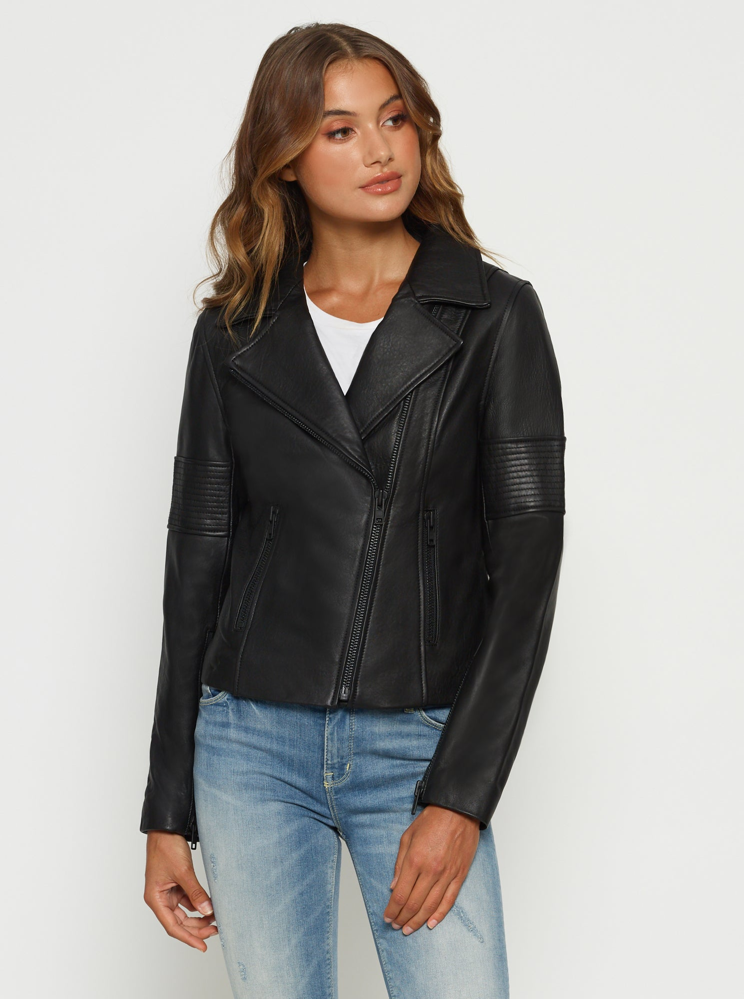 Born To Be Wild Leather Jacket