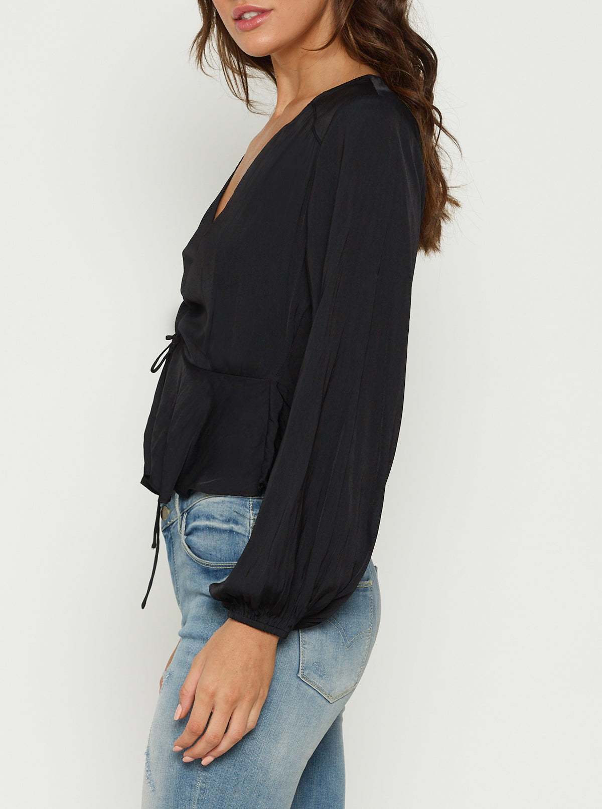 Look Twice Cropped Blouse/Jacket