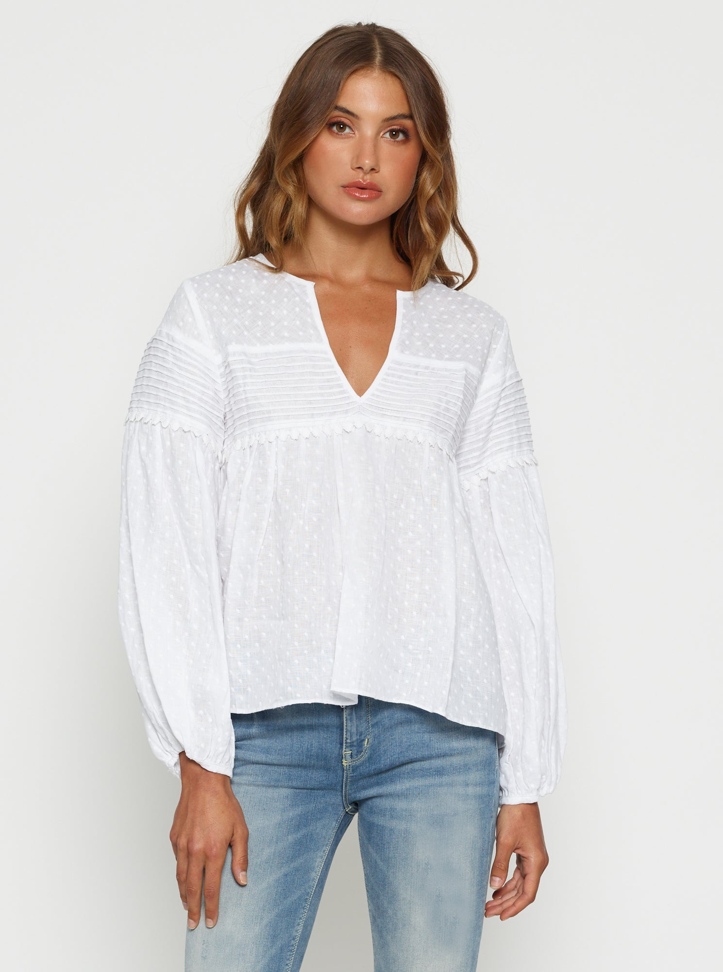 Love To Burn Linen Blouse