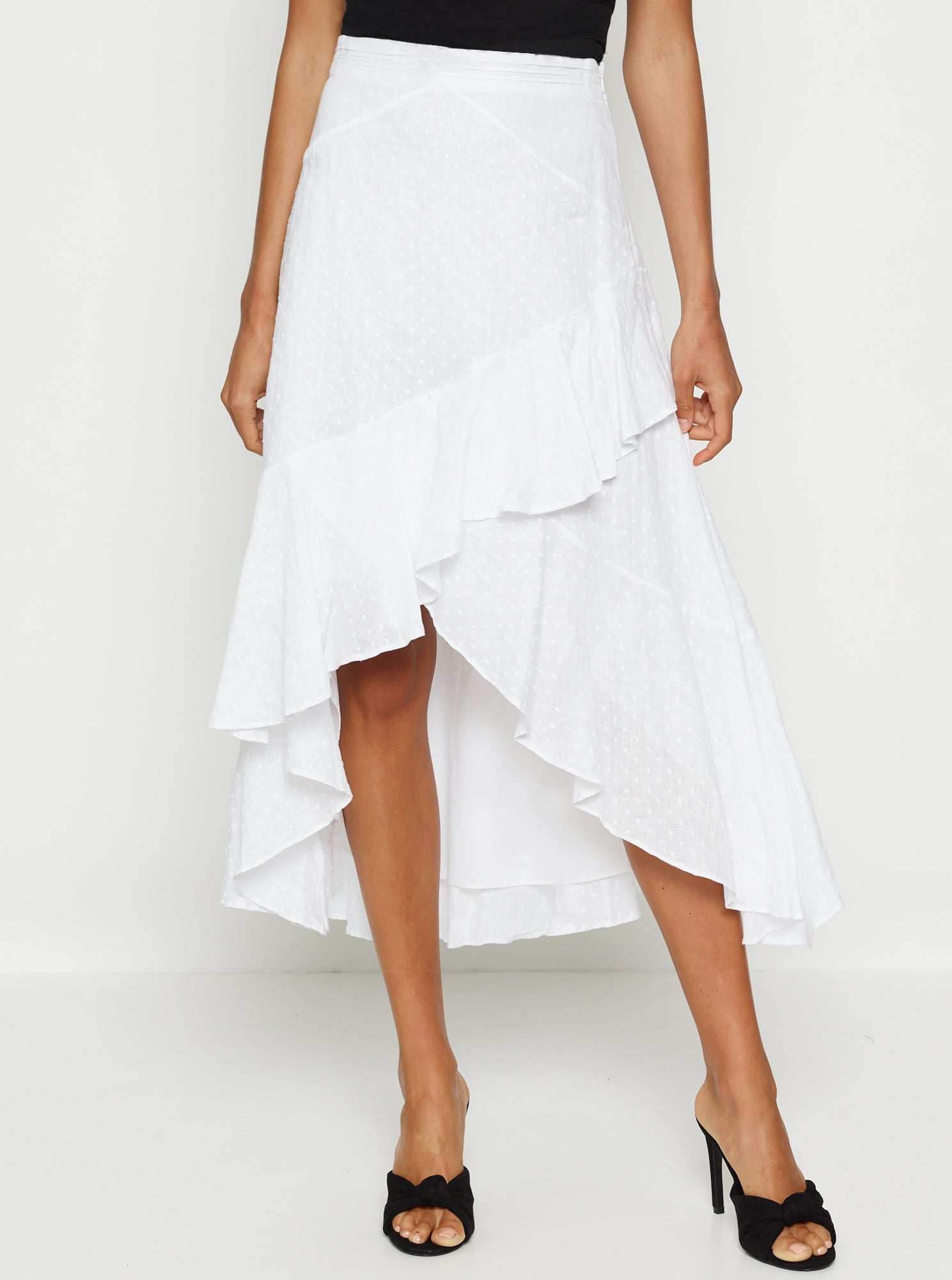 Love To Burn Linen Skirt