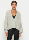 Off Duty Balloon Sleeve Cardigan