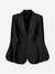 Evening Stars Dramatic Sleeve Blazer