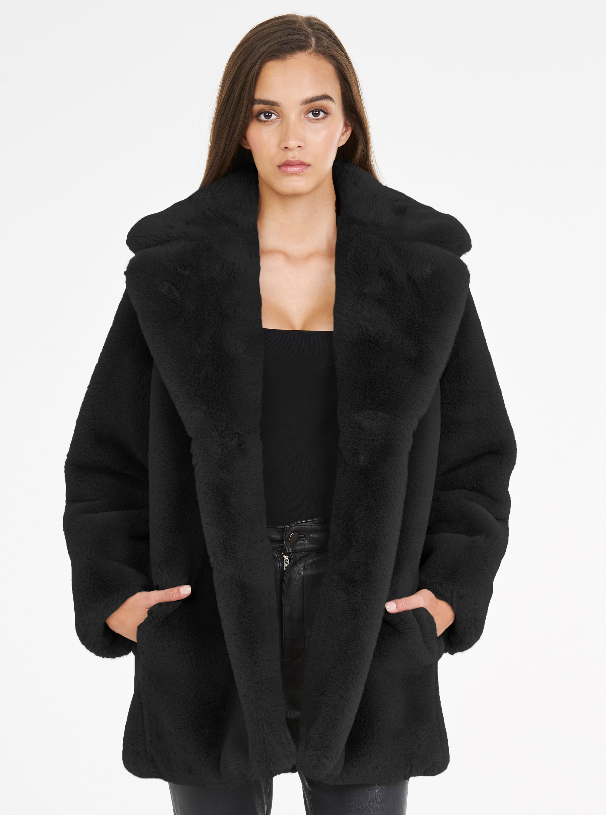 Teddy Luxe Long Jacket