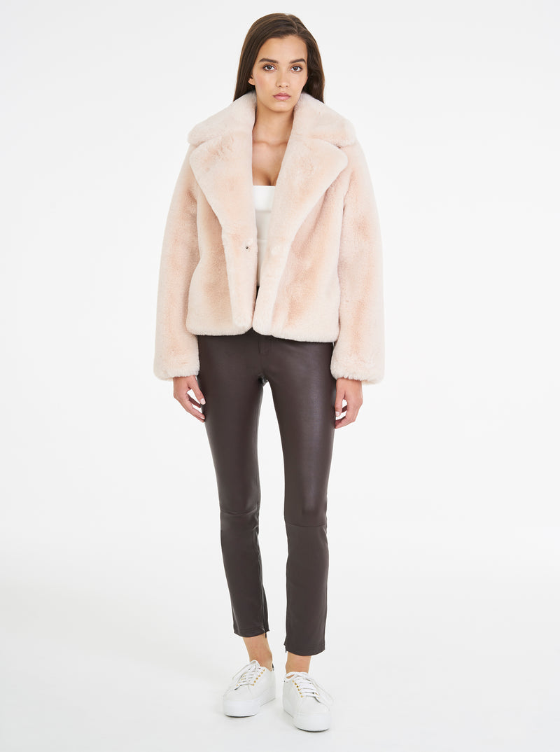 Teddy Luxe Short Jacket