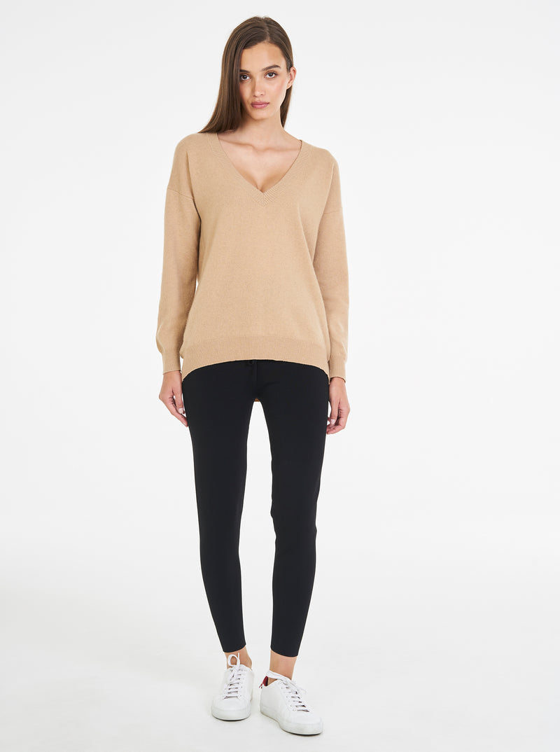 Loved Up Cashmere V-Neck Knit