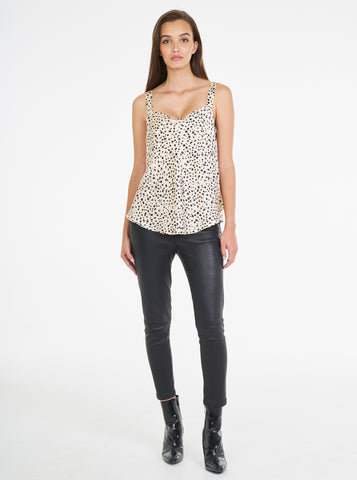 Luxe Silk Animal Print Cami