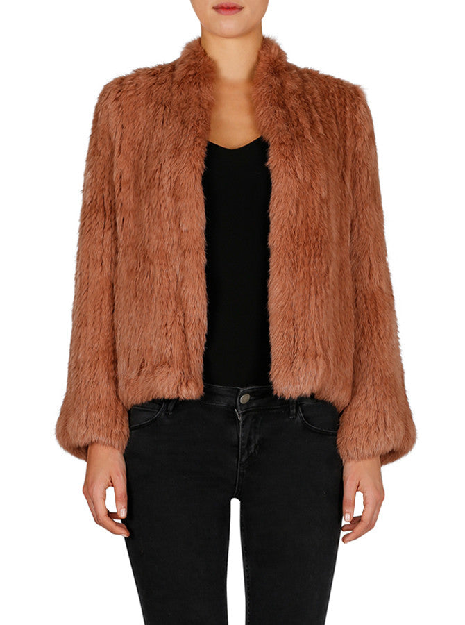 Lush Luxe Jacket - Terracotta