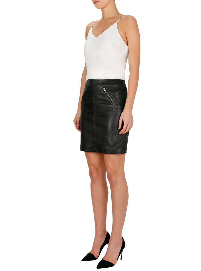 Pure Iconic Mini Skirt - Black